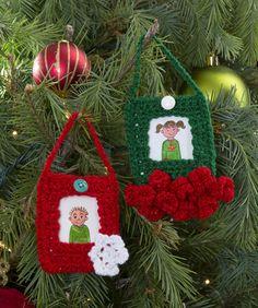 Festive Ornament Frames