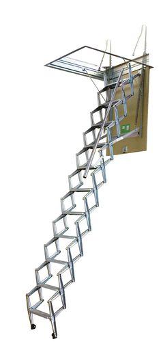 Escada de Sótão - Escada Pantógrafo (Interior)