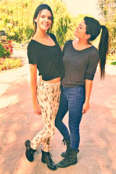 Kendall & Kylie Jenner's style <3