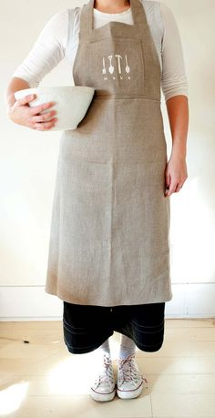 Would love this apron, it's linen.