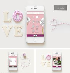 Appy Couple is the most stylish platform for engaged couples to create their own wedding app & website!