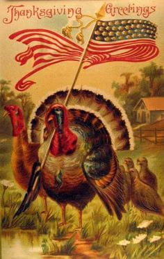 Vintage Thanksgiving Postcards | Vintage Thanksgiving Postcards - I Antique Online