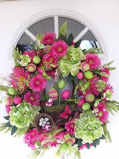 What I would like to hang on my front door each Spring!