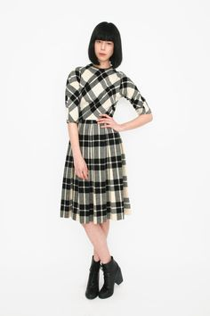 I definitely don't want to be thinking about plaids in the summer, but I'd LOVE to add this to my wardrobe.