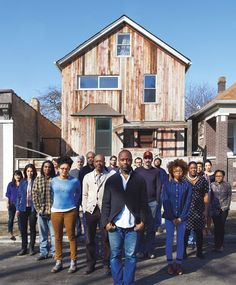 The Change Agent Theaster Gates is constructing a brilliant art career—and transforming his Chicago neighborhood—one salvaged building at a time.  http://www.wmagazine.com/culture/art-and-design/2013/06/theaster-gates-chicago-artist/