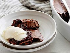 Ina's Brownie Pudding Recipe Video : Food Network - FoodNetwork.com