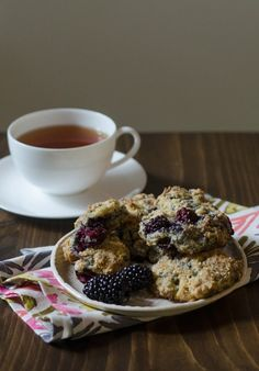 Morning Recipe: Blackberry Scones from The Big Sur Bakery Cookbook Recipes from The Kitchn | The Kitchn