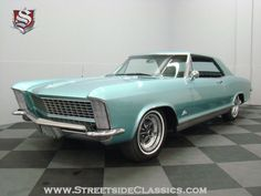 1965 Buick Rivera GS. This was our family car when I was young (in silver).