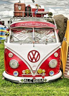 Cross country VW Van