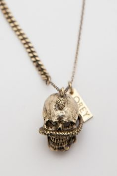 Destroyer necklace obey clothing