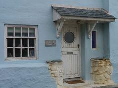 Front door #Cornwall #Seaside #Nautical #Home