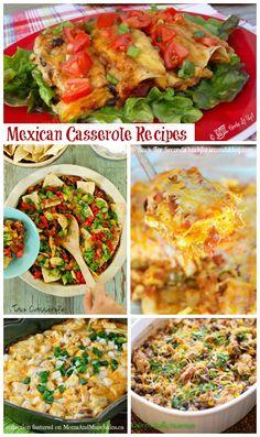 Mexican Casserole Recipes #Mexican #Recipes
