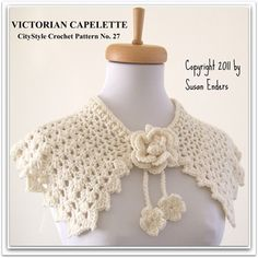 Victorian Capelette by Susan Enders