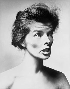 Katharine Hepburn, actor, New York, March 2, 1955   	Copyright	 	© 2008 The Richard Avedon Foundation