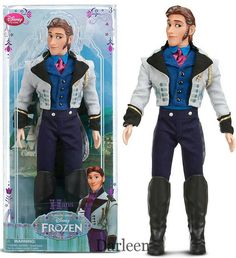 Disney Store's new Frozen doll ~ Hans | Flickr - Photo Sharing!-- I kinda love him!