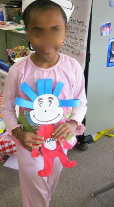 thing one- dr. seuss craft