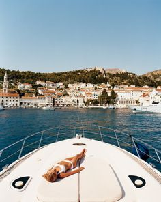 Greece or wherever! Tan on a yacht!
