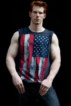 Something really nice about the contrast between the lighter skin hues and dark colors, and the simple tone of those arms exposed by this stylish sleeveless. Starting to develop a thing for Gingers!