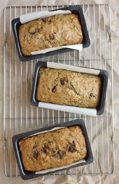 How to Make the Best Zucchini Bread Ever - Whole Wheat Chocolate Chunk. #recipe