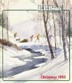 L.L.Bean Christmas 1985