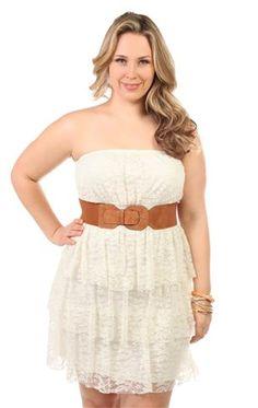 ... waist triple tier skirt Graduation dress maybe? MUST BE WHITE! More