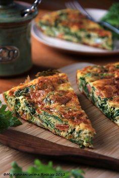 Kale Frittata – A Healthy Breakfast Casserole