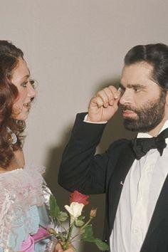 1973 - Karl Lagerfeld & Marisa Berenson