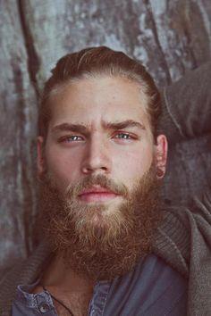 Beautiful eyes and a Beard.