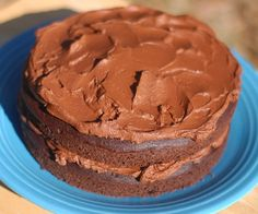 Celebrate birthdays with this delicious gluten-free, grain-free, low-carb and NUT-Free chocolate cake!