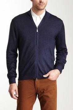 Gran Sasso Full Zip Vintage Merino Sweater on HauteLook