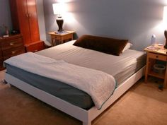 diy platform, bedroom idea, birthdays, hous, platform beds, build, design idea