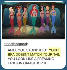 Ariel, are you even trying?  // funny pictures - funny photos - funny images - funny pics - funny quotes - #lol #humor #funnypictures