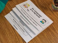 Make for writing difficulties--compound sentence rules, punctuation......Use a flip book to help kiddos keep track of writing and grammar basics {punctuation rules, capitalization rules, synonyms/antonyms, parts of speech, etc.}