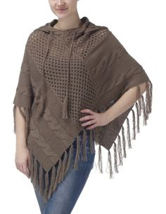Joe Browns Women's Throw On Anywhere Poncho