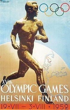 19 juli 1952 - Opening van de Olympische Spelen te Helsinki