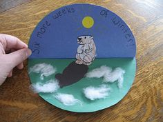 holiday, ground hog, februari, school stuff, craft idea, preschool idea, fun, groundhog day crafts, 1st grade