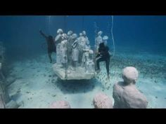 Video of Cancun Underwater Museum