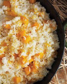 Butternut Squash with Rice Recipe