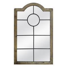 Threshold™ Arched Windowpane Mirror