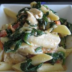 Suki's Spinach and Feta Pasta - Allrecipes.com