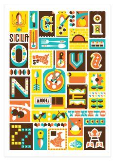 Food Chocolate Design by Marco Goran Romano, via Behance