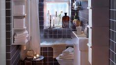 Meuble etroit petite salle de bains