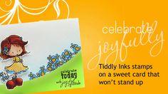 Celebrate joyfully! (Curvaceous Cut card tutorial!)
