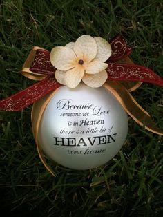 Because Someone we love is in Heaven.......custom by LuluDesignsTX, $12.95