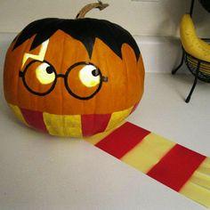 Pumpkins harry potter (please let me know the original photo source)