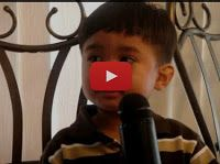"""3 yr old sings karaoke """" Shout to the lord """" - Must Watch Video   Online Christian Songs"""
