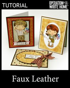 Tutorial - Faux Leather