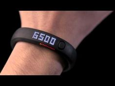 Nike FuelBand - measures daily activity -syncs to smart phone... hmmm.... supposed to 'rival' the Motoactv...