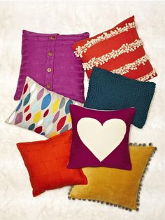 Must get every single one of these cozy fall pillows #hgtvmagazine http://www.hgtv.com/decorating-basics/easy-ways-to-make-your-house-more-cozy/pictures/page-7.html?soc=pinterest