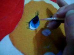 paint doll eyes